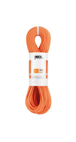 Petzl Paso Guide - Cuerdas de escalada - 7,7 mm x 50 m naranja